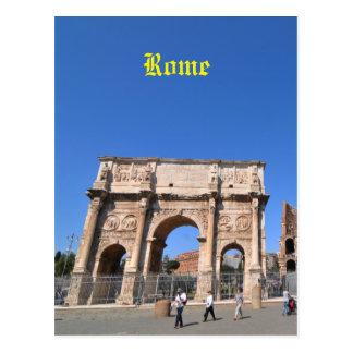 Bogen in Rom, Italien Postkarte