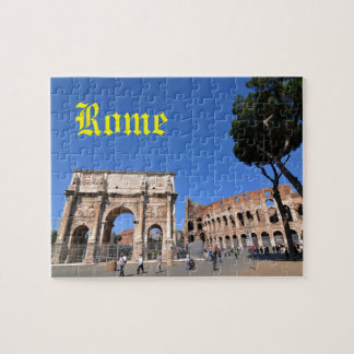 Bogen in Rom, Italien Puzzle