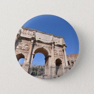 Bogen in Rom, Italien Runder Button 5,7 Cm