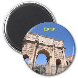 Bogen in Rom, Italien Runder Magnet 5,1 Cm