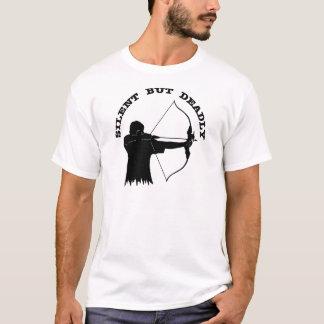 Bogen-Jagd-Bogenschießen still aber tot T-Shirt