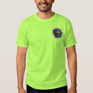 Bogen-Jäger-Logo Besticktes T-Shirt