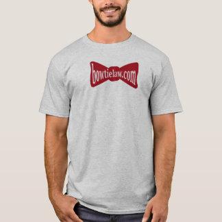 Bogen-Krawatten-Gesetzesfan-Shirt T-Shirt