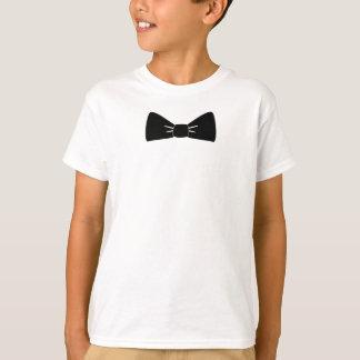 Bogen-Krawatten-Jungent-shirt T-Shirt