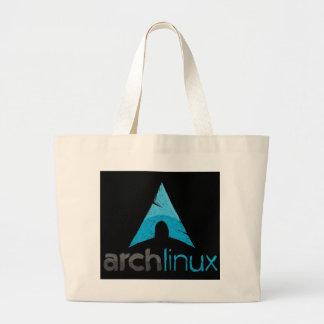 Bogen-Linux-Logo Jumbo Stoffbeutel