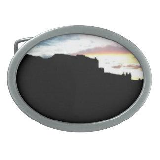 Bogen-Nationalpark-La-Salz-Gebirgsstandpunkt SU Ovale Gürtelschnallen