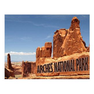 Bogen-Nationalpark-Ostutah-Postkarte Postkarte