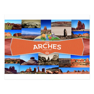 Bogen-Nationalpark-Postkarte Postkarte