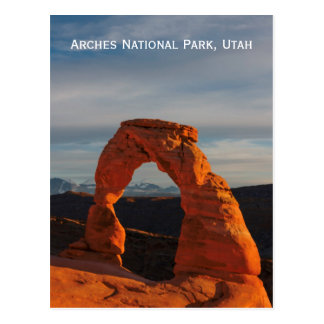 Bögen Nationalpark, Postkarte Utahs, USA