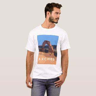 Bogen-Nationalpark-T - Shirt - empfindlicher Bogen