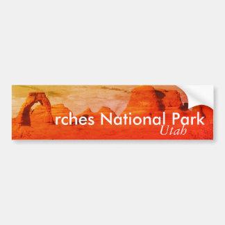 Bögen Nationalpark, Utah Autoaufkleber
