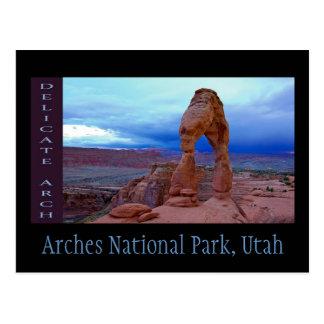 Bögen Nationalpark, Utah Postkarte
