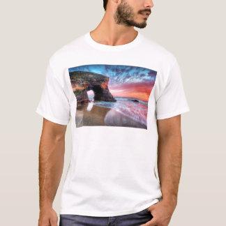 Bogen-Sonnenuntergang T-Shirt