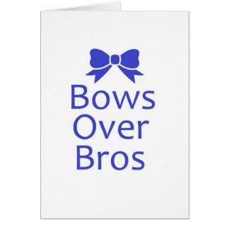 Bögen über Bros- Blau Karte