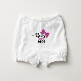 BÖGEN VOR BROS Baby-Bodysuitkleidung Baby-Windelhöschen