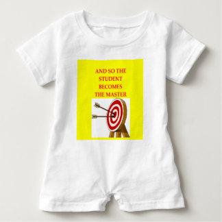 Bogenschießen Baby Strampler