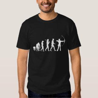 Bogenschießen-Evolution eines Bogenschießen-Bogens Tshirts