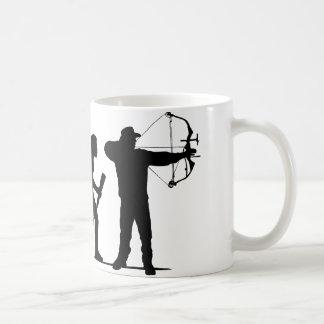 Bogenschießen Kaffeetasse