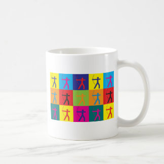 Bogenschießen-Pop-Kunst Tasse