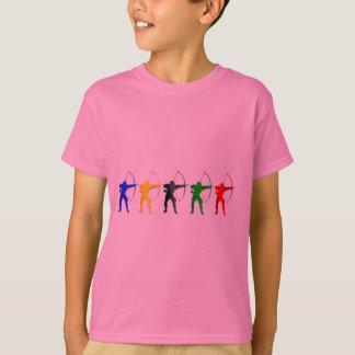 Bogenschießen-Sommer-Spiel-   Bogenschütze-Sport T-Shirt