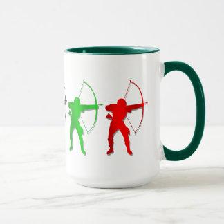 Bogenschießen-Sommer-Spiel-   Bogenschütze-Sport Tasse