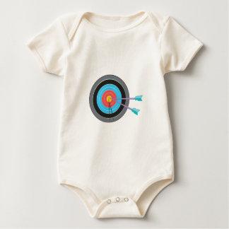 Bogenschießen-Ziel Baby Strampler