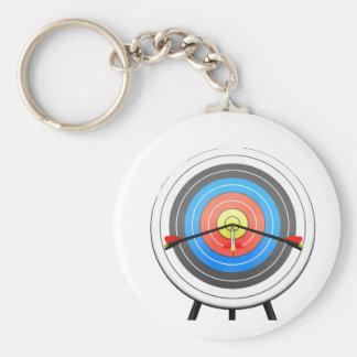 Bogenschießen-Ziel Keychain Schlüsselanhänger