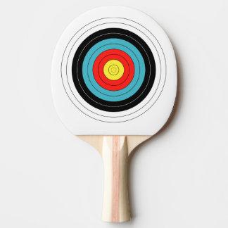 Bogenschießen-Ziel-Klingeln Pong Paddel Tischtennis Schläger