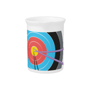 Bogenschießen-Ziel Krug