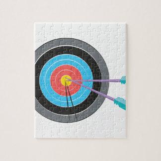 Bogenschießen-Ziel Puzzle