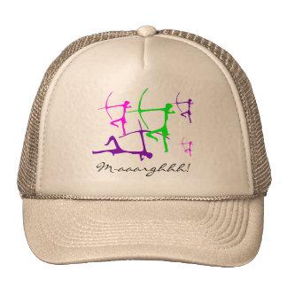 Bogenschütze-Kappe Netzkappen