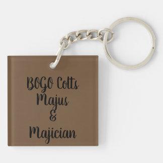 BOGO Explosions-Schlüssel Chin Acryllic Schlüsselanhänger