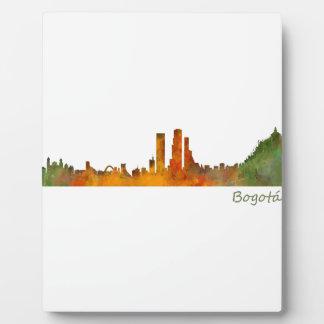 Bogotá City Kolumbien Cundinamarca Skyline v01 Fotoplatte