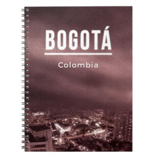 Bogota, Kolumbien Spiral Notizblock