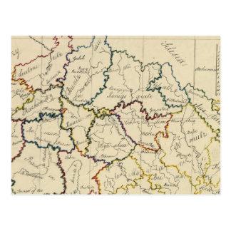 Böhmen, Moray, Österreicher Schlesien Postkarte
