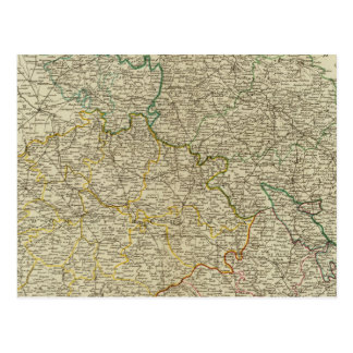 Böhmen, Schlesien, Moray, Lusatia Postkarte