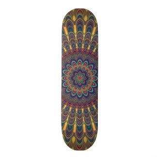 Böhmische ovale Mandala 19,1 Cm Old School Skateboard Deck