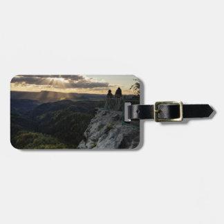 Böhmische Schweiz landschaftliches Ansicht-Foto Gepäckanhänger