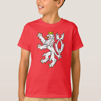 Böhmischer heraldischer Löwe T-Shirt