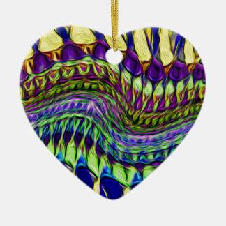 Böhmischer Traum Keramik Herz-Ornament