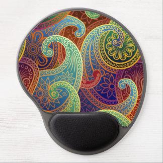 Böhmisches zeitloses Muster Paisleys Gel Mousepads