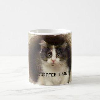 Bohnenkaffee-Zeit jdw Kaffeetasse