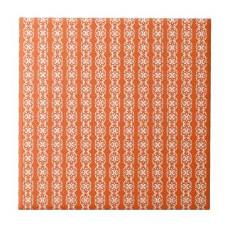Boho Basar, Mischung u. Match-Orangen-Muster Kleine Quadratische Fliese