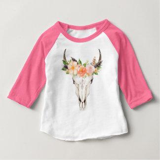 Boho Chic-Schädelund Baby T-shirt