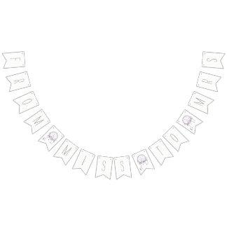Boho Dreamcatcher Brautparty-Fahne Wimpelketten