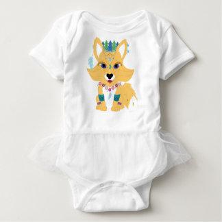 Boho Fox Baby Strampler