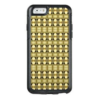 Boho gelbes GoldSinti und OtterBox iPhone 6/6s Hülle