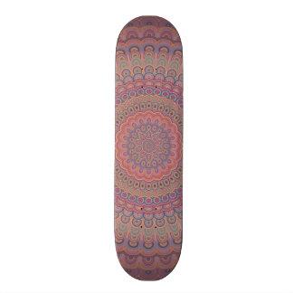 Boho Oval-Mandala 18,7 Cm Mini Skateboard Deck