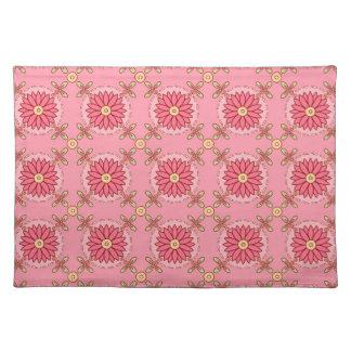 Boho rosa Muster ~ Tischset