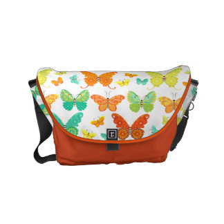 Boho Schmetterlings-Bote-Tasche Kuriertasche